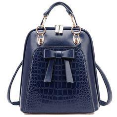 Designer Blue Handbag