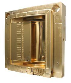 Injection Mold Titanium coated