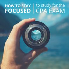 Distractions are all around us--however, there are things you can do to make sure your CPA Exam studying goes smoothly. Check them out here!