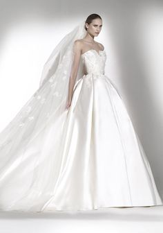 Elie By Elie Saab 2015 / Strapless Neckline Princess Ball Gown, Dress - Hong Kong | Designer Bridal Room
