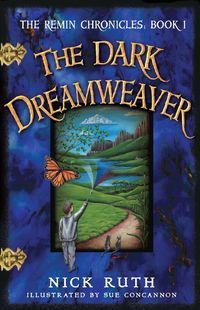 'The Dark Dreamweaver'- Nick Ruth---  Eleven-year-old David travels to Remin, the land of dreams, to try and stop an epidemic of nightmares. He is aided on his quest by a caterpillar wizard, a jellyfish-man, two wise-cracking water serpents, and several other unusual characters. *$2.99* #rekiosk #ebooks #childrens