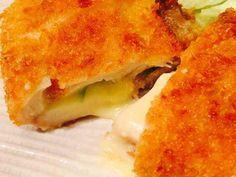 大人気♫ササミの梅しそチーズフライ♡の画像