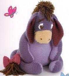 Free Eeyore Crochet Patterns - Shop for Free Eeyore                                                                                                                                                                                 Más