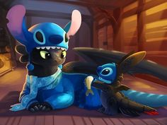 When Toothless And Stitch Have Sleepovers, They Dress Up As Each Other - Popular Disney Cute Cute Disney Wallpaper, Wallpaper Iphone Cute, Cute Cartoon Wallpapers, 1080p Wallpaper, Disney E Dreamworks, Disney Pixar, Disney Kunst, Disney Art, Cute Disney Drawings