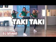 Dance Tips - Video : Taki Taki - DJ Snake ft. Selena Gomez, Ozuna, Cardi B - Easy Dance Video - Choreography - Virtual Fitness Gucci Mane Songs, Hip Hop Dance Videos, Easy Dance, Gym Video, Dance Tips, Dance Quotes, Dance Choreography, Original Music, Cardi B