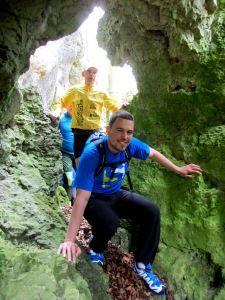 Trail running in #Bavaria in #Franconian Switzerland More: http://laufspass.com/laufberichte/2013/hoehlenlauf-2013-film.htm