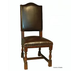 abode furniture dining chairs parsons leather dining chair part number ...