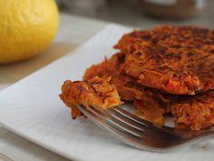 Carrot & Sweet Potato Latkes - YumUniverse