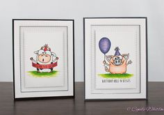 Fun cards created by Cynde using Simon Says Stamp Exclusives.