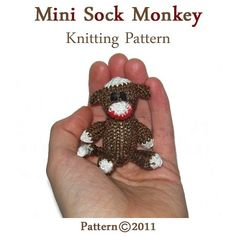 Knitting Pattern For A Sock Monkey : 1000+ images about Mini Knits on Pinterest Sock monkeys, Amigurumi and Mini...