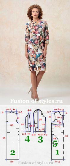 Women flat silhouette dress... ♥ Deniz ♥