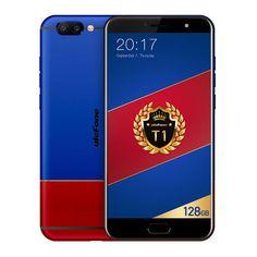 Ulefone T1 Premium Edition 5.5 Inch 6GB RAM 128GB ROM MTK Helio P25 Octa core 4G Smartphone