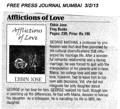 Affliction Of Love Book Review - Free Press Journal 3 Feb 13