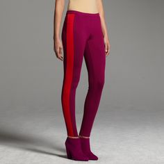 Perfect for nyc holiday parties. Narciso Rodriguez for DesigNation colorblock leggings #KohlsDreamLooks