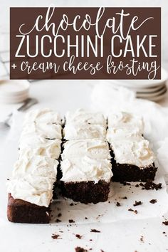 Decadent chocolate zucchini cake is the best seasonal cake this fall! Rich warm chocolate, slight cinnamon fall flavor with a small after hint of orange and the best part is its full of healthy zucchini! || Oh So Delicioso