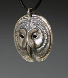 handcrafted animal totem jewelry,  silver owl jewelry, owl totem jewelry
