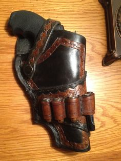S&W Governor custom leather holster