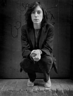 Patti Smith, New York, 1974 by Frank Stefanko
