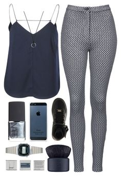 """""""Untitled #183"""" by luciamenesess ❤ liked on Polyvore featuring Finders Keepers, NIKE, BlissfulCASE, Topshop, Casio, FOSSIL, NARS Cosmetics and Korres"""