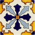 Mexican Tile - Handcrafted Mexican Talavera Tile by Color - Blues