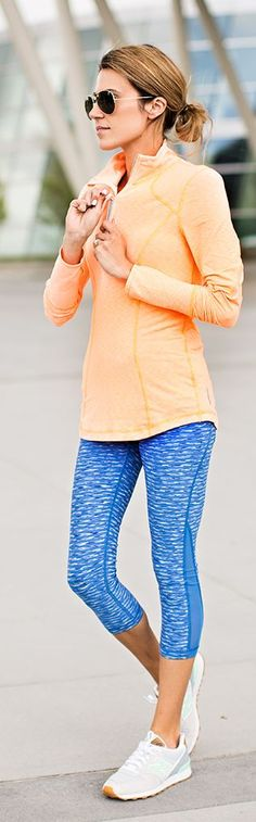 Colourful Workout Style by Hello Fashion WOMEN'S ACTIVEWEAR http://amzn.to/2lLc7Dx