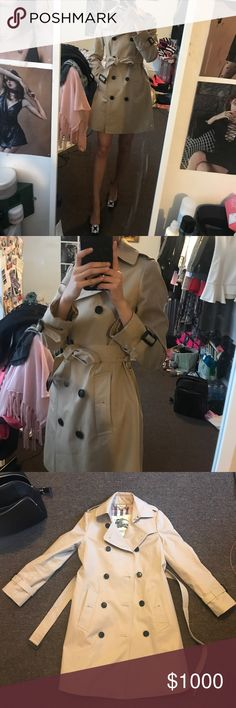 Burberry Trench Coat As pic shows Burberry Jackets & Coats
