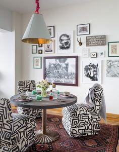 Um casal incomum no Brooklyn - Casa Vogue | Interiores                                                                                                                                                     Mais