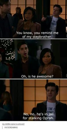 Wait that's not the show drake and Josh 😂 in jail for stalking Oprah 😂 Funny Quotes, Funny Memes, Hilarious, Funny Cartoons, Memes Humor, Cat Memes, Tv Funny, Epic Quotes, Icarly