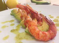 Denny Chef Blog: Gamberoni con avocado ed emulsione allo zenzero