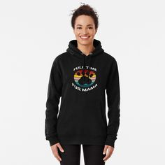 """""""Full Time Fur Mama"""" Pullover Hoodie by ind3finite 
