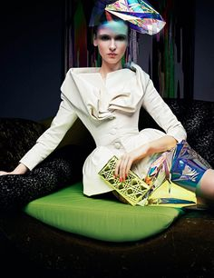 Pretty PIctures: Dior Shoot for Pop Magazine   Searching for Style