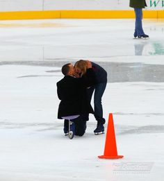 Ice Skating proposals in Central Park, New York..this would be my dream come true
