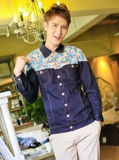 $53.71 -- Mens Jackets Coats Korean Style Buttons up Slim Fit Jacket Coat  Discount Online Shopping