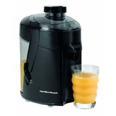 Hamilton Beach Juice Extractor Juicer in Black for Healthy Diet Fitness Kitchen #HamiltonBeach