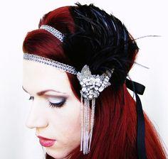 art deco headdress