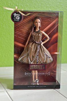 Hershey Kiss Barbie