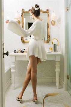 Bell Sleeve Crop Top, Bell Sleeves, Satin Crop Top, Classy Aesthetic, Ferrat, White Satin, Clogs, Skirt Set, Neutral