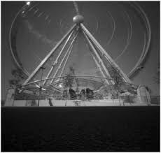Amusement park photos taken with a pinhole camera by Nancy Breslin Pinhole Camera Photos, Park Photos, Amusement Park, Dublin, Fair Grounds, Photographs, Ferris Wheels, Travel, Photos