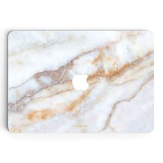 Vanilla Marble MacBook Skin