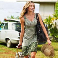 Santorini Dress | Athleta - Perfect casual, summer dress! Ideal for a trip to Mr. B's?
