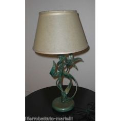 Wrought Iron Abat Jour Lamp. Customize Realizations. 728 Italian Style, Wrought Iron, Sweet Home, Table Lamp, Lighting, Home Decor, Table Lamps, Decoration Home, House Beautiful