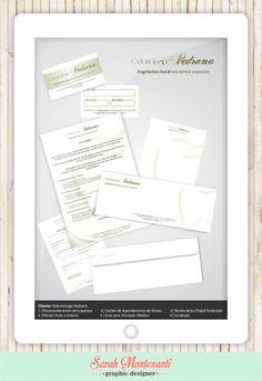 Cliente: Odontologia Vedrano Desenvolvimento de Logotipo | Cartão para Agendamento de Consultas | Papel Timbrado | Envelope | Missão, Visão e Valores | Receituário | Atestado Médico