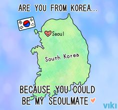 FYI:  A lot of Korean people would be confused by this picture.  It's not really common to separate the Korean peninsula like this.  Some would be rather offended.  There is a lot of inter-Korean tension and problems, but they still see themselves as one people.  (You know, 'cause 60 years apart vs. 5,000 years together...)