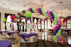 Dance Floor Decor - Balloon Wrap Around Dance Floor