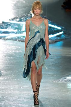 What a mermaid wears her first night ashore. Rodarte Spring 2015 RTW. #nyfw #Rodarte #spring2015