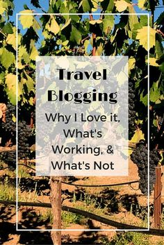 Why I love travel blogging. Tips on what have helped me develop my blog, helpful resources and what you shouldn't do. Tips and resources for travel bloggers.
