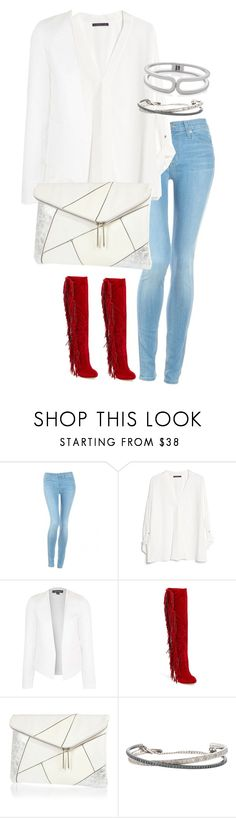 """Untitled #1877"" by officialnat on Polyvore featuring Hudson Jeans, MANGO, Topshop, Lauren Lorraine, River Island, Roberto Marroni and The Limited"