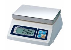 CAS SW-1D Portion Control 5-50 LB Scale w/Dual Display, Farmers Market #CAS