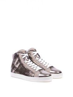 HOGAN REBEL High-Top Sneakers Hogan Rebel. #hoganrebel #shoes #sneakers