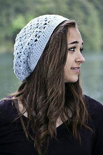 Summer Slouch Hat - free crochet pattern by Susie Bonell / Cascade Yarns Website.